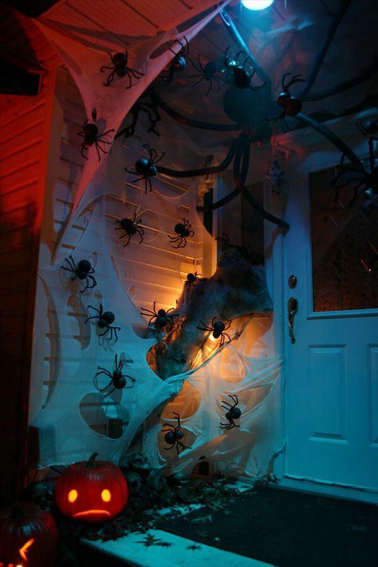 ハロウィンの装飾が怖すぎる家 写真22