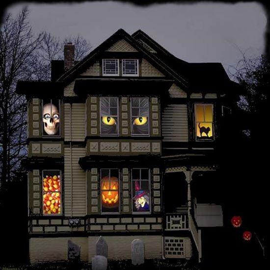 ハロウィンの装飾が怖すぎる家 写真24