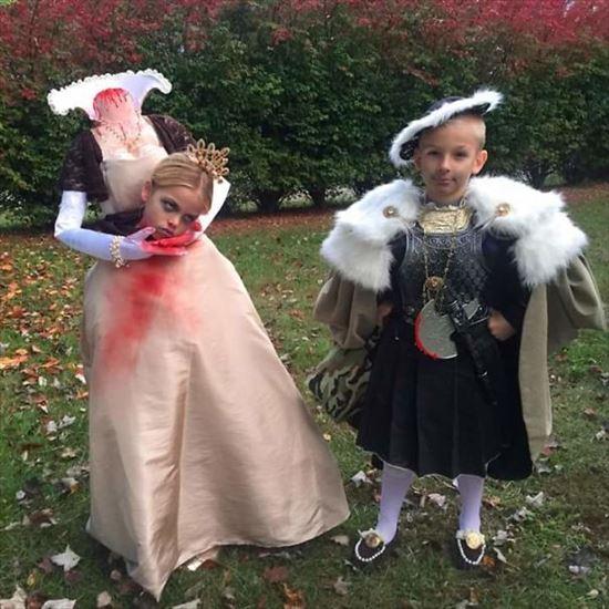 ヘンリー8世とアン・ブーリン コスプレ